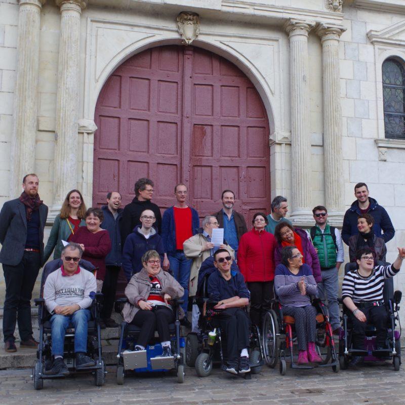 Action culturelle de Perspectives auprès des personnes handicapées