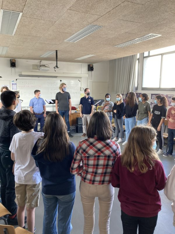 Action culturelle de Perspectives auprès des jeunes