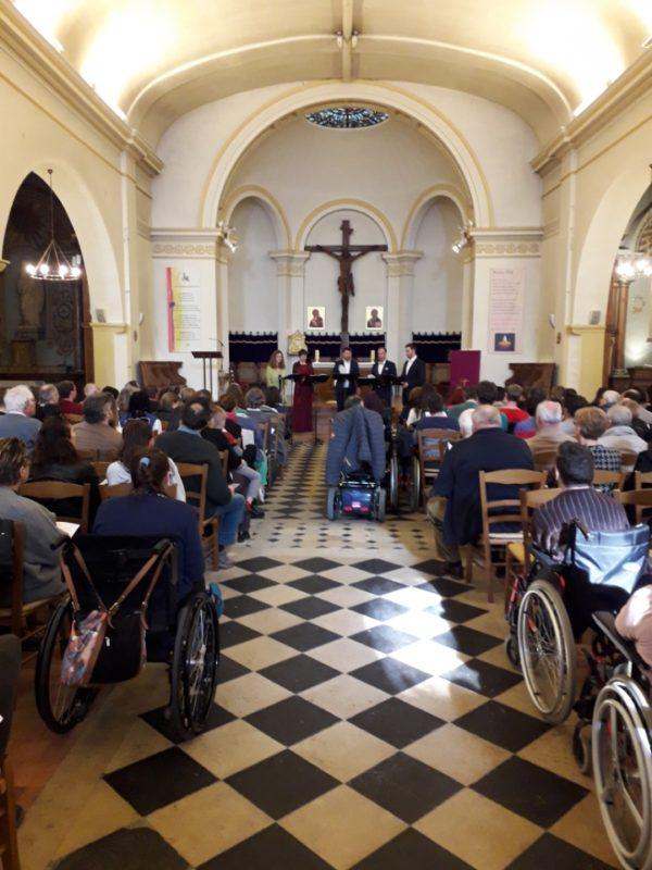 Concert de Perspectives en faveur des personnes handicapées